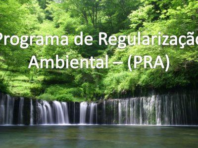 NOVO PRAZO DO PROGRAMA DE REGULARIZAÇÃO AMBIENTAL