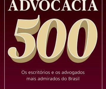 ADVOCACIA 500 – edição 2019