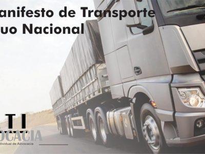 MTR – Manifesto de Transporte de Resíduos Nacional