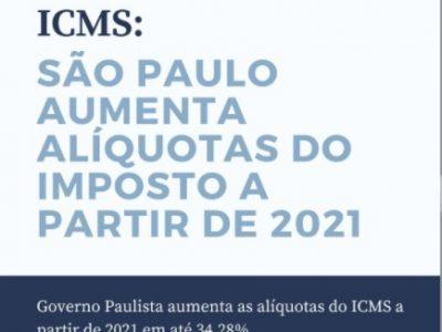 Vem aí aumento de imposto no Estado de São Paulo!