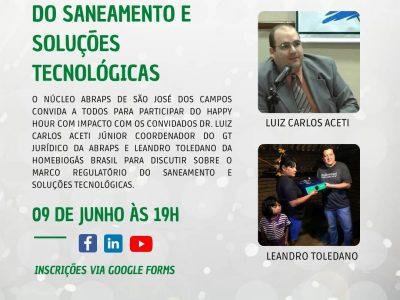 LIVE: Marco Regulatório do Saneamento e Soluções Tecnológicas